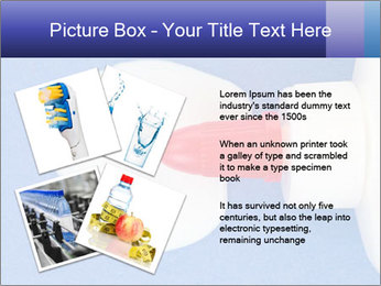 Blue craft paper PowerPoint Templates - Slide 23