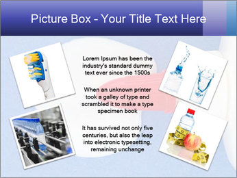 Blue craft paper PowerPoint Templates - Slide 24