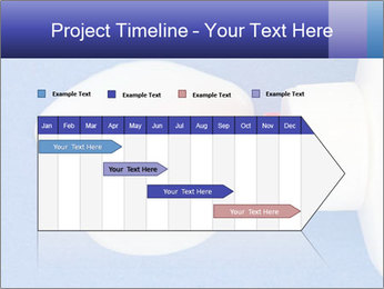Blue craft paper PowerPoint Templates - Slide 25