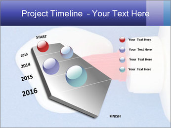 Blue craft paper PowerPoint Templates - Slide 26