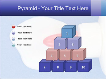 Blue craft paper PowerPoint Templates - Slide 31