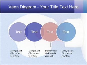 Blue craft paper PowerPoint Templates - Slide 32