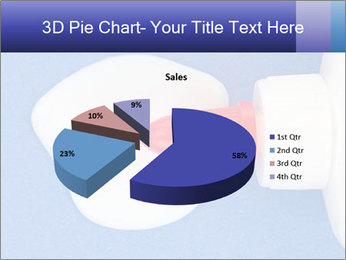 Blue craft paper PowerPoint Templates - Slide 35