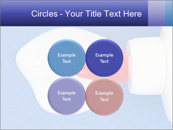 Blue craft paper PowerPoint Templates - Slide 38