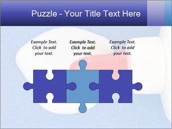 Blue craft paper PowerPoint Templates - Slide 42