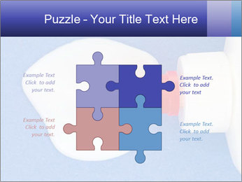Blue craft paper PowerPoint Templates - Slide 43