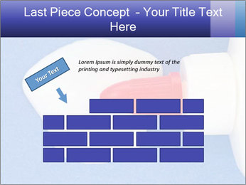 Blue craft paper PowerPoint Templates - Slide 46