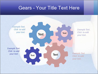 Blue craft paper PowerPoint Templates - Slide 47