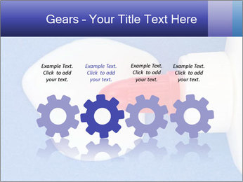 Blue craft paper PowerPoint Templates - Slide 48