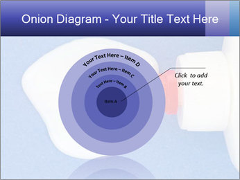 Blue craft paper PowerPoint Templates - Slide 61