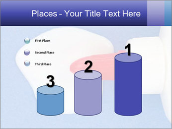 Blue craft paper PowerPoint Templates - Slide 65