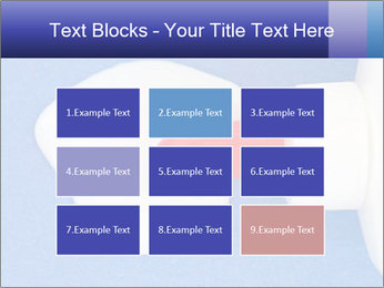 Blue craft paper PowerPoint Templates - Slide 68