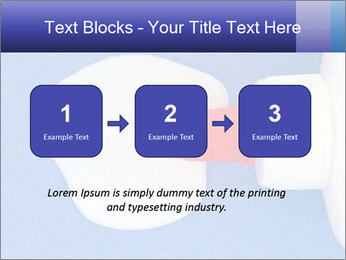 Blue craft paper PowerPoint Templates - Slide 71