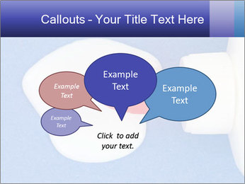 Blue craft paper PowerPoint Templates - Slide 73