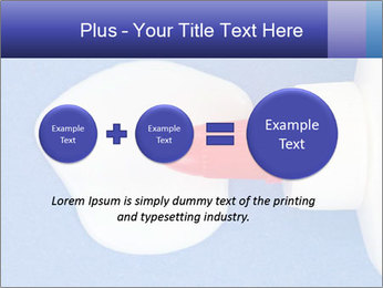 Blue craft paper PowerPoint Templates - Slide 75