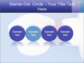 Blue craft paper PowerPoint Templates - Slide 76