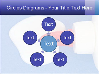 Blue craft paper PowerPoint Templates - Slide 78