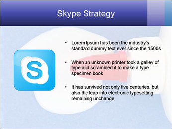 Blue craft paper PowerPoint Templates - Slide 8