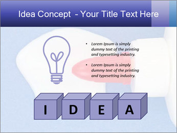 Blue craft paper PowerPoint Templates - Slide 80