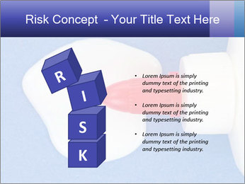 Blue craft paper PowerPoint Templates - Slide 81