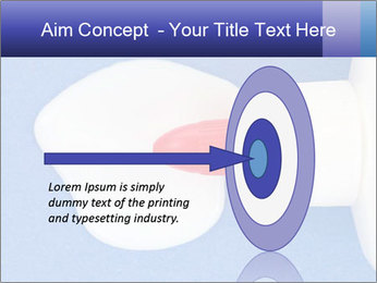 Blue craft paper PowerPoint Templates - Slide 83