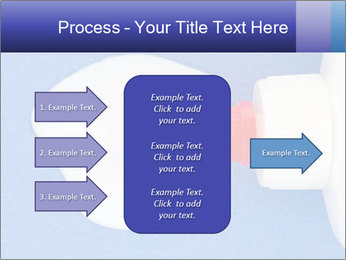 Blue craft paper PowerPoint Templates - Slide 85