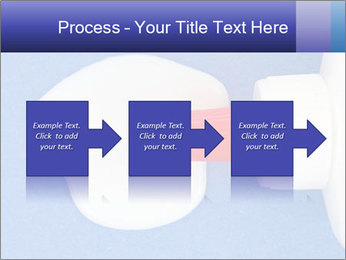Blue craft paper PowerPoint Templates - Slide 88