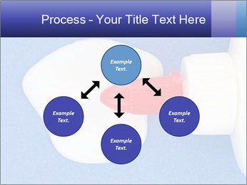 Blue craft paper PowerPoint Templates - Slide 91