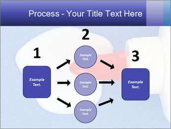 Blue craft paper PowerPoint Templates - Slide 92