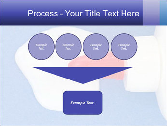 Blue craft paper PowerPoint Templates - Slide 93
