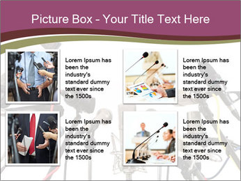 Conference meeting PowerPoint Template - Slide 14