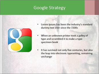 Grunge Buddha red PowerPoint Template - Slide 10
