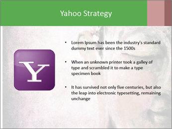 Grunge Buddha red PowerPoint Template - Slide 11