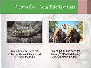 Grunge Buddha red PowerPoint Template - Slide 18