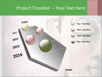 Grunge Buddha red PowerPoint Template - Slide 26