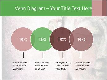 Grunge Buddha red PowerPoint Template - Slide 32