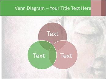Grunge Buddha red PowerPoint Template - Slide 33
