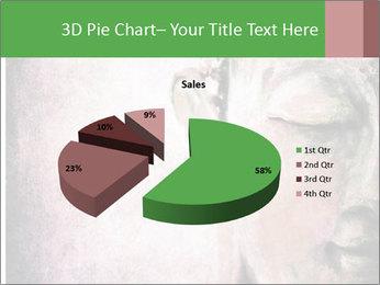 Grunge Buddha red PowerPoint Template - Slide 35