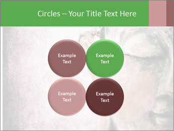 Grunge Buddha red PowerPoint Template - Slide 38