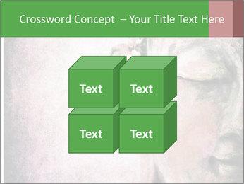 Grunge Buddha red PowerPoint Template - Slide 39