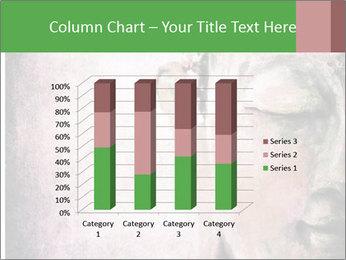 Grunge Buddha red PowerPoint Template - Slide 50