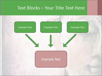 Grunge Buddha red PowerPoint Template - Slide 70