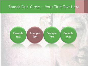 Grunge Buddha red PowerPoint Template - Slide 76