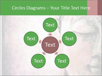 Grunge Buddha red PowerPoint Template - Slide 78