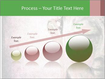 Grunge Buddha red PowerPoint Template - Slide 87