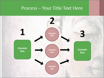 Grunge Buddha red PowerPoint Template - Slide 92