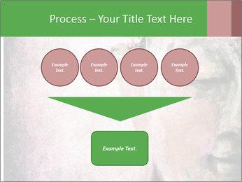 Grunge Buddha red PowerPoint Template - Slide 93
