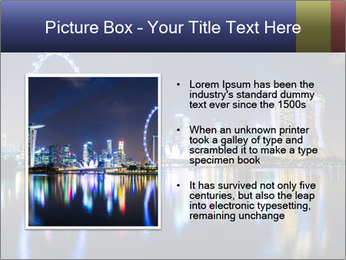 Singapore skyline PowerPoint Template - Slide 13