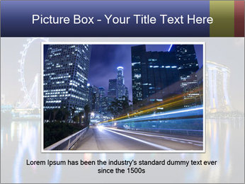 Singapore skyline PowerPoint Template - Slide 15