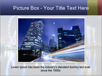 Singapore skyline PowerPoint Template - Slide 16